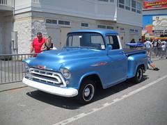 1957 Chevy 3100 Pickup Truck (kschwarz20) Tags: cruisin ocmd oceancity nikonl20 chevy pickup truck kts md