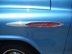 1957 Chevy 3100 Pickup Truck - Side Emblem (kschwarz20) Tags: cruisin ocmd oceancity nikonl20 chevy pickup truck emblem kts md