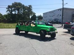 Jeep Wrangerl Sport Stretch Limo (kschwarz20) Tags: cruisin ocmd oceancity iphone jeep limo limosine wrangler kts md
