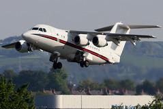 ZE701_07 (GH@BHD) Tags: ze701 bae146cc2 royalairforce no32sqn belfastcityairport britishaerospace bae bae146 raf bhd egac military transport vip executive corporate aircraft aviation airliner