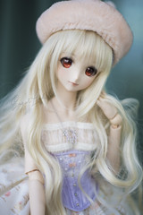 the blond macaron (Sugar Lokifer) Tags: ranka lee dollfie dream doll volks dds dd sister macross frontier