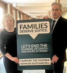 Supporting Claire Baker MSP's Culpable Homicide Bill