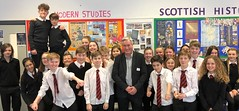 Visiting North Berwick High School