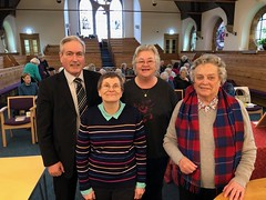 Speaking to Church Guild at St Andrews Blackadder in North Berwick