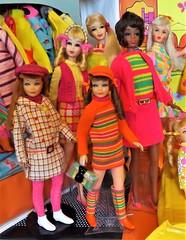 NEW CHRISTIE (ModBarbieLover) Tags: marlo christie barbie fashion doll mod mattel pink groovy new vintage toy stripes 1968 1967 1969