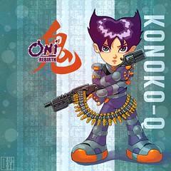 Konoko-Q II (hinxlinx) Tags: dailyart illustration digitalart bungi gameart fanart characterart posterart chibiart chibi oni konoko guns hinxlinx ericlynxlin elynx instaart artofinstagram 軒