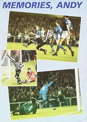 Newcastle United vs Manchester United - 1994 - Page 21 (The Sky Strikers) Tags: newcastle united manchester st james park fa carling premiership official programme one pound fifty