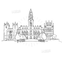 Porto Portugal outline sketch (Hebstreits) Tags: architecture art background black bridge building city cityscape design doodle drawing drawn europe european exterior facade famous graphic hand historical house houses illustration isolated landmark landscape line lisbon old outline pencil porto portugal roof set sketch street symbol tile tourism tower town tram travel urban vector view vintage white wine