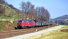 DB 215 007-6, West Germany, 1974 (Yeovil Town) Tags: westgermany railway db 2150076 gerlachsheim lauda wurzburg