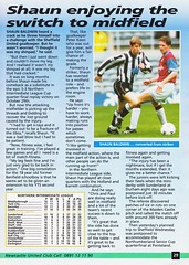 Newcastle United vs Manchester United - 1994 - Page 29 (The Sky Strikers) Tags: newcastle united manchester st james park fa carling premiership official programme one pound fifty