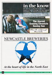 Newcastle United vs Manchester United - 1994 - Page 32 (The Sky Strikers) Tags: newcastle united manchester st james park fa carling premiership official programme one pound fifty