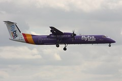 G-JEDU | Flybe | De Havilland Canada  DHC 8-Q402 Dash 8 (geoff487) Tags: flybe bee be dash8q400 dash8 birminghaminternationalairport egbb bhx bombardier dehavillandcanada dhc