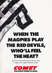 Newcastle United vs Manchester United - 1994 - Page 39 (The Sky Strikers) Tags: newcastle united manchester st james park fa carling premiership official programme one pound fifty