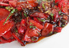 Stir-fried Pointed Peppers (FotoosVanRobin) Tags: bellpepper redpepper pointedpeppers recipe recept puntpaprikas wokgerecht chinees