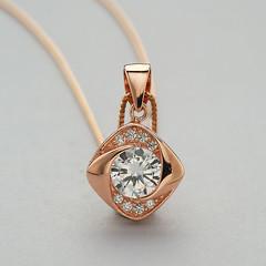 Beautiful & Stylish Rose Gold Diamond Pendants & Necklace (NeilAbelini) Tags: rose gold pendants necklace diamond