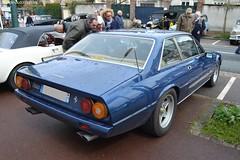 Ferrari 400i (Monde-Auto Passion Photos) Tags: voiture vehicule auto automobile ferrari 400i berline bleu blue ancienne classique rare rareté collection rassemblement france courtenay