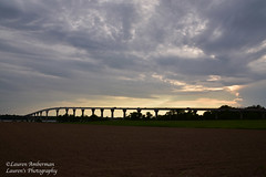 To the other side (lauren3838 photography) Tags: laurensphotography lauren3838photography landscape bridge sky clouds calvertcounty md maryland marylandphotographer nikon d750 tamron tamron2875mm28 sunset
