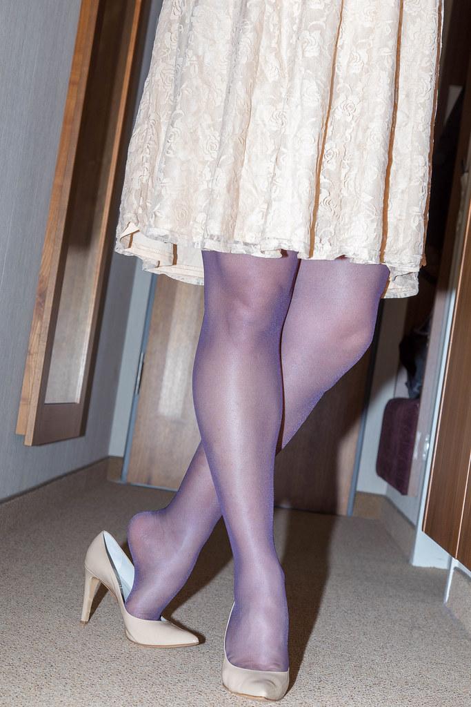nylon beine