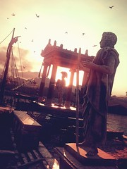 Assassin's Creed Odyssey | Sunset Over the Harbor (Stephanie-J) Tags: assassins creed odyssey