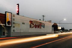 brentwood bowl (Duke of Gnarlington) Tags: south city san francisco el camino history brentwood bowl bowling light long exposure traffic sony a7riii zeiss 35mm 14