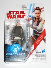 rey island journey star wars the last jedi red and white card basic action figures force link 2017 hasbro mosc 2a (tjparkside) Tags: rey island journey star wars last jedi red white card basic action figures figure force link 2017 hasbro training luke skywalker lightsaber poncho holster blaster pistol blasters pistols vest jacket ahchto ahch temple mosc
