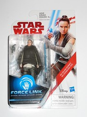 rey island journey star wars the last jedi red and white card basic action figures force link 2017 hasbro mosc 1a (tjparkside) Tags: rey island journey star wars last jedi red white card basic action figures figure force link 2017 hasbro training luke skywalker lightsaber poncho holster blaster pistol blasters pistols vest jacket ahchto ahch temple mosc