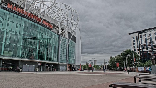 Salford Quays and Old Trafford