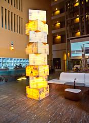 Lobby (schreibtnix on'n off) Tags: reisen travelling europa europe spanien spain bilbao hotel lobby licht light olympuse5 schreibtnix