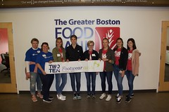 "Boston Footwear Cares volunteer at the Greater Boston Food Bank • <a style=""font-size:0.8em;"" href=""http://www.flickr.com/photos/45709694@N06/47972643933/"" target=""_blank"">View on Flickr</a>"