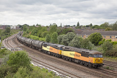 56105 56113 Scunthorpe HUM_048 (Stuart's Transport) Tags: freight train uk scunthorpe lincolnshire colasrailfreight colas class56 56105 56113