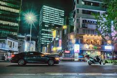 Just outside (Jon Siegel) Tags: street night nikon neon bladerunner 14 sigma places korea seoul 24mm cinematography southkorea ghostintheshell futuristic spaces d810 sigma24mm sigma24mmf14