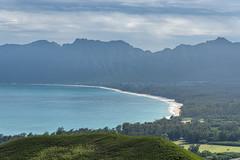 Waimanalo Beach from Pillbox Hike (Al Case) Tags: waimanalo beach oahu hawaii pillbox hike al case landscape nikon d750 nikkor 24120mm f4g ocean pacific
