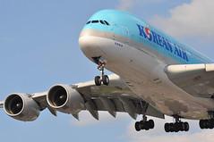 KE0907 ICN-LHR (A380spotter) Tags: approach arrival landing finals shortfinals belly airbus a380 800 msn0039 hl7612 beyond50yearsofexcellence 50yearanniversary 19692019 50thanniversary fiftieth decals stickers 2019 대한항공 koreanair kal ke ke0907 icnlhr runway27r 27r london heathrow egll lhr