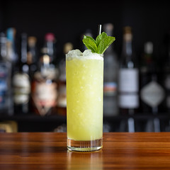 Chartreuse Swizzle (Chase Hoffman) Tags: eos denver colorado color chasehoffmanphotography chasehoffman fall autumn canon 5dmarkiv 5dmkiv canoneos5dmarkiv food sigma50mmf14dghsmart normal 50mm cocktail drink chartreuse swizzle