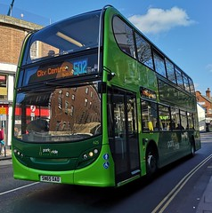 Konectbus 625 is on Red Lion Street while on route 502 to City Centre. - SN65 OAD - 1st April 2019 (Aaron Rhys Knight) Tags: konectbus 625 sn65oad 2019 redlionstreet norwich norfolk goeast alexanderdennis enviro400