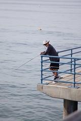 Los Angeles 11 (Lennart Arendes) Tags: los angeles santa monica california pier ocean water fish fisherman canon eos 5d mark ii fishing waves morning