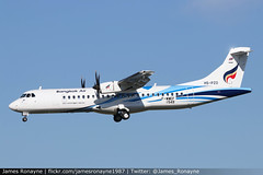 HS-PZO | ATR 72-600 | Bangkok Airways (james.ronayne) Tags: hspzo atr 72600 bangkok airways at76 toulouse blagnac tls lfbo aeroplane airplane plane aircraft airliner aviation flight flying canon 80d 100400mm raw sky turbo turboprop prop propeller tp twin