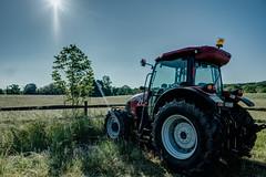 St. Michaels Farm Preserve, Hopewell Township, Mercer County (khurtwilliams) Tags: hopewelltownship hopwell mercercounty stmichaelsfarmpreserve tractor