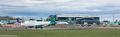 EI-CVB/EI-DVM Aer Lingus Airbus A320-214 (Niall McCormick) Tags: dublin airport eidw aircraft airliner dub aviation eicvb eidvm aer lingus airbus a320214
