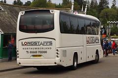 Longstaff, Amble (ND) - OU14 SVF (peco59) Tags: ou14svf auwerter neoplan n2216shd n2216 tourliner coach coaches psv pcv photo photos longstaffamble longstaffscoaches mearnsblantyre mearnsexclusivetravel