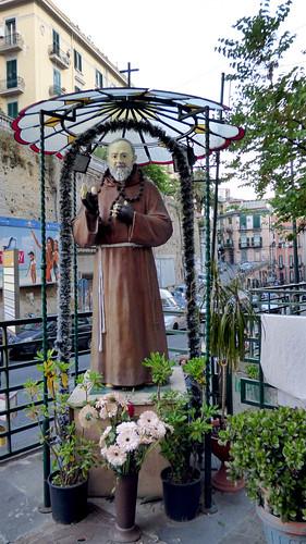 Naples - Padre Pio, via salvator rosa