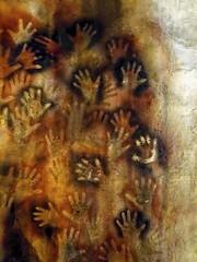 Cuevas de las Manos (brucecarlson66) Tags: hand prints handprint decorated caves prehistoric signature history art historical argentina 9000 13000 years stencil santa cruz patagonia world heritage site perito moreno painting paint silhouettes