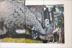 Sur les traces de Vernon Subutex galeries du Hérisson Artiste Ouvrier et WCA 32 Rue Gabrielle 75018 Paris. (berthou.patrick) Tags: sur les traces de vernon subutex galeries du hérisson artiste ouvrier et wca 32 rue gabrielle 75018 paris