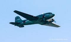 "Douglas DC-3A ~ N8336C ""The Spirit of Benovia"" (© Freddie) Tags: essex thurrock grays douglas dc3 c47 n8336c thespiritofbenovia dday ddayanniversary fjroll ©freddie"