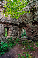 (franconiangirl) Tags: castle ruin ruine vergessen forgotten burgruine abandonedcastle naturetakingback middleages mittelalter castillo castello ehemalig verwunschen abandonado