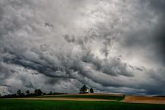 Saint Coleman in distress (ramerk_de) Tags: niederbayern church thunderstorm bavaria chapel clouds germany