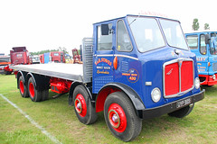 AEC Mammoth Major T&R Staves UYP 989 (SR Photos Torksey) Tags: transport truck haulage hgv lorry lgv logistics road commercial vehicle freight traffic aec rally newark 2019 vintage classic mammoth major staves