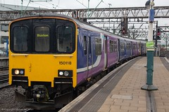 Northern 150118 (Mike McNiven) Tags: arriva railnorth northern dmu diesel multipleunit sprinter supersprinter buxton manchester piccadilly