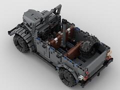 GAZ 69a (dimkablinov) Tags: lego moc technic vehicle 4x4 car gaz retro