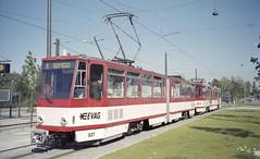 2002-09-12 Erfurt Tramway Nr.527 (beranekp) Tags: germany tramway erfurt tram tramvaj tranvia šalina strassenbahn elektrika električka 527 tatra